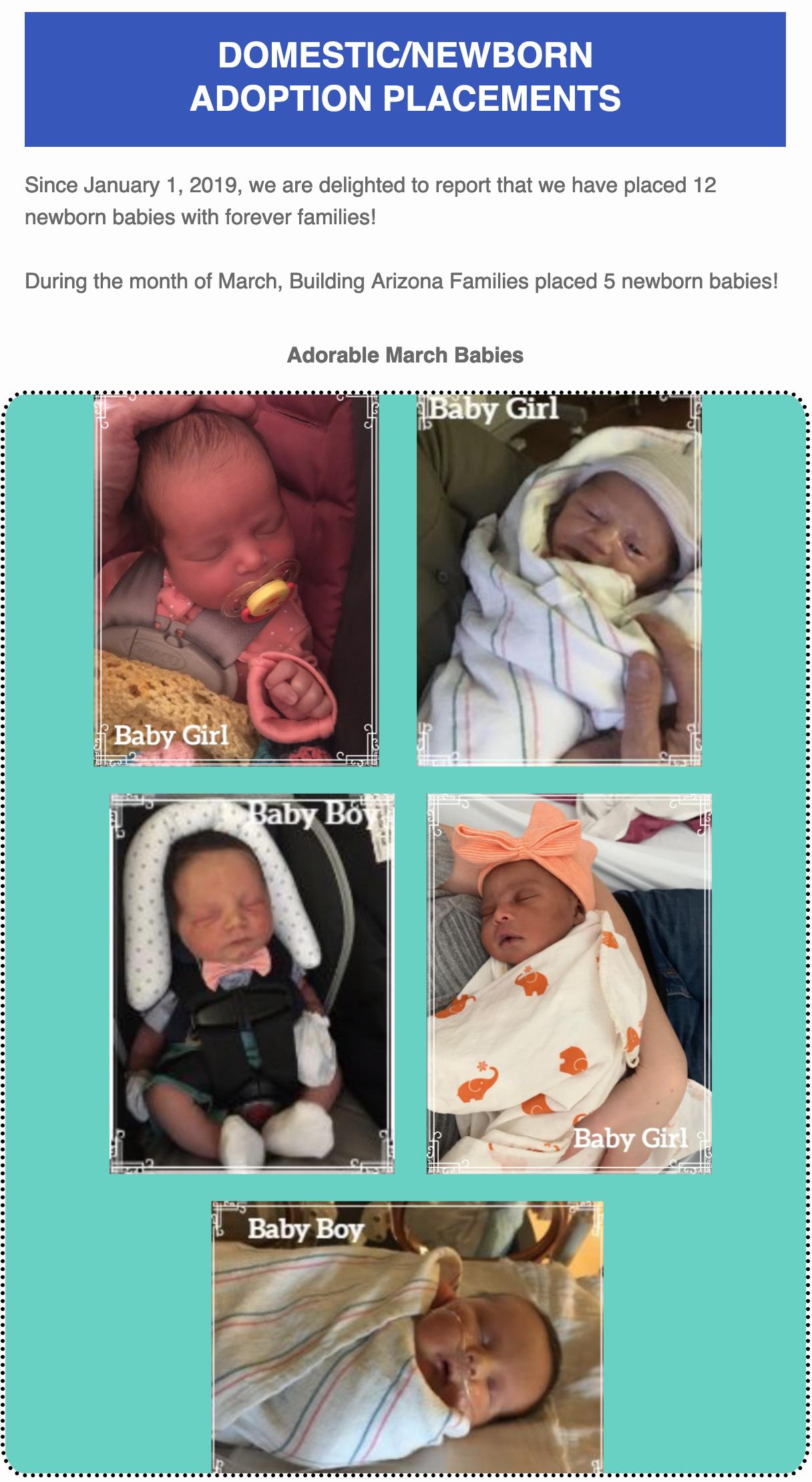 adopt newborn baby