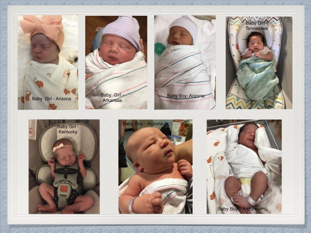 June newborn adoptions